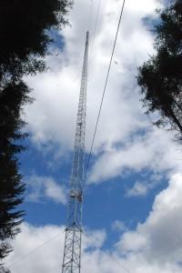 Windmessung auf 140m Höhe