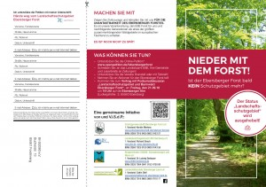 Ist der Ebersberger Forst bald kein Schutzgebiet mehr?